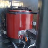 Projektirali, proizveli i uspješno pustili u pogon 700kW peć na biomasu na postojeći kotao!