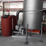 Toplovodna peć, 100kW