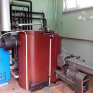 Izrada toplovodne peći 50kW, za tvrtku Tomapalete