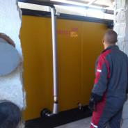 Izrada toplovodne peći 300kW, za tvrtku Vugrin